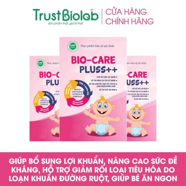 MEN VI SINH Biocare Pluss ++TĂNG CƯỜNG SỨC ĐỀ KHÁNG