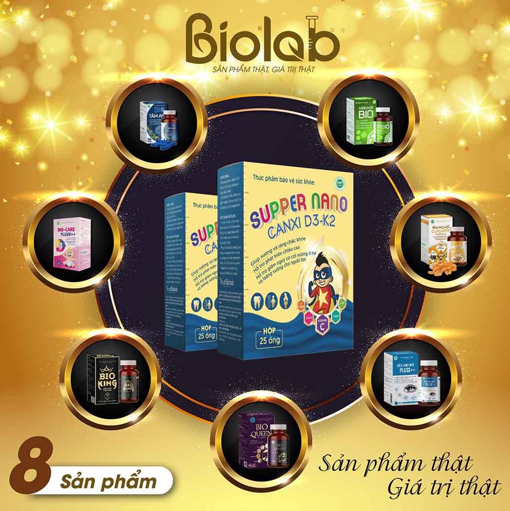 Bio Nanocurcumin Pluss++ TỎI ĐEN, XẠ ĐEN, CAO NẤM QUÝ
