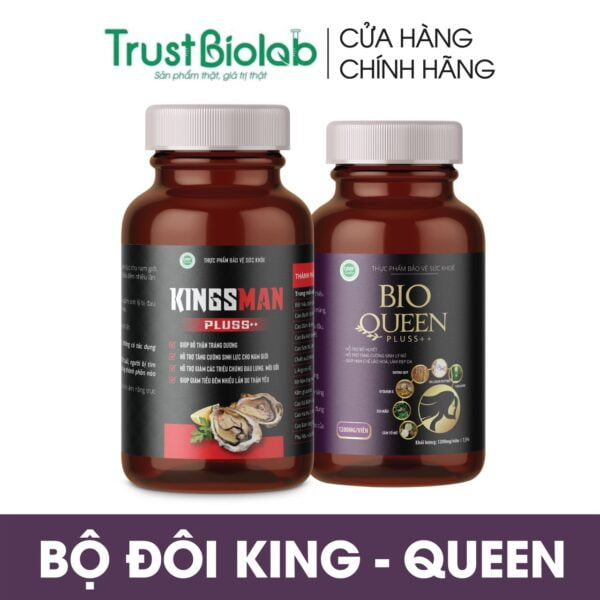 Bộ đôi hoàn hảo Kingsman Pluss- Bioqueen Pluss